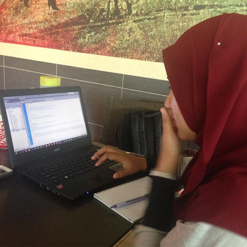 Website coding lesson in Kajang